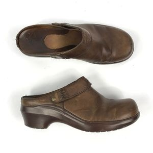 Ariat Womens Leather Clogs Slip On Mules